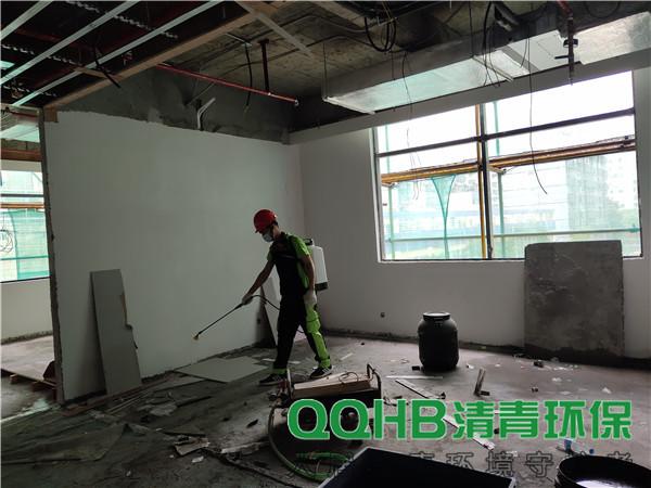 深圳粤海街道公共综合服务中心白蚁防治服务室内