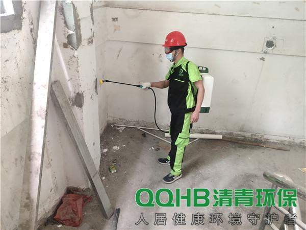 深圳粤海街道公共综合服务中心白蚁防治服务楼道
