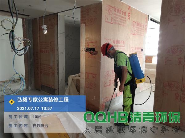 深圳弘毅公寓白蚁防治2